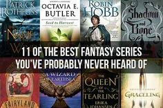 *11 Of The Best Fantasy Series You've Probably Never Heard Of