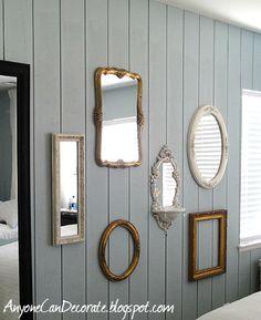Badkamer on pinterest vintage mirrors bathroom and met - Vintage badkamer ...