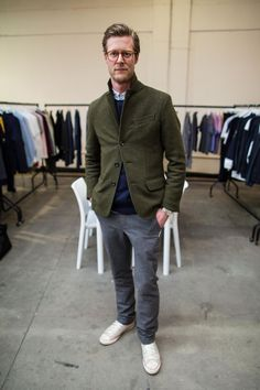 Yves Wilke - The best-dressed men at Jacket Required - GQ.co.uk