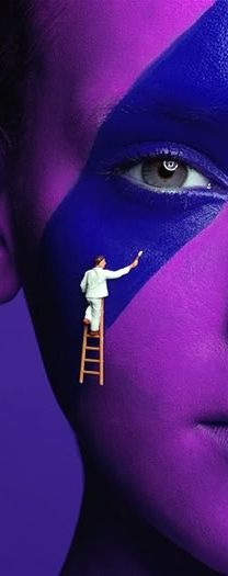 Violet portrait