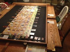 FINALLY FINISHED!!! The family game table | BoardGameGeek | BoardGameGeek