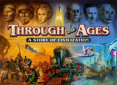 Very Good Condition Through the Ages is a civilization building game. Each player attempts to build the best civilization through careful resource management, Games Box, Dice Games, Games To Play, Card Games, Family Game Night, Family Games, Pegasus, Board Game Box, Building Games
