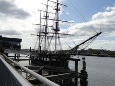 Replica of immigrant ship, New Ross, Ireland