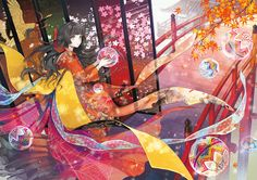 Image 59350148 hosted in Up ảnh nhanh Beautiful Anime Girl, Anime Girl Cute, Anime Art Girl, Manga Art, Anime Girls, Anime Chibi, Anime Manga, Anime Girl Kimono, Pixiv Fantasia