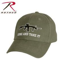 Rothco Come and Take It Deluxe Low Profile Cap. Baseball HatsCome ... 87ae94b7aab1