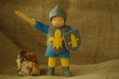 Knight Waldorf doll // Waldorf doll for boys // Play by TaleWorld