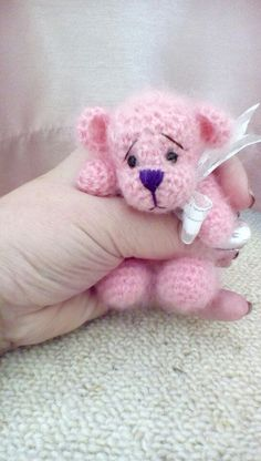 OOAK HANDMADE TEDDY BEAR by lisa