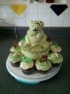 Baby shower cake/cupcakes