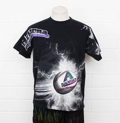 Arizona Diamondbacks Retro Colors 1997 Large vintage t-shirt https   img0. 834af911d
