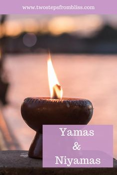 Yamas And Niyama: Top 10 Tips For Living A Spiritual Life | Two Steps From Bliss | The yamas and niyamas show us how to deepen our spirituality, how to behave, and how to think in order to increase our happiness, peace, and wellbeing. Practice these in your daily life and you'll find yourself growing more peaceful as time goes by. #twostepsfrombliss #spiritual #yamasandniyamasphilosophy