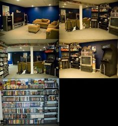 Video Games Room~~~fun for the whole family