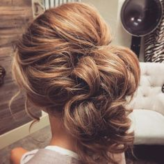 37 Glamorous Updos for Bridesmaids 2018