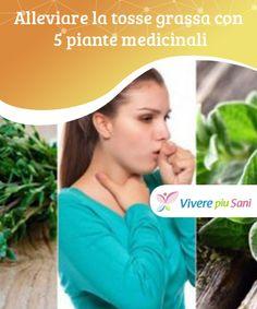 Alleviare la #tosse grassa con 5 piante medicinali  Sono varie le piante #medicinali che possono #esserci utili alleate per alleviare la tosse #grassa e altri sintomi delle #infezioni respiratorie.