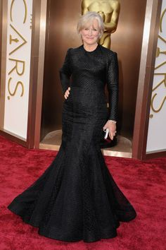 Oscar Dresses 2014, Glenn Close in Zac Posen
