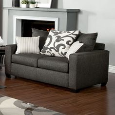 Furniture Of America Colebrook Love Seat Collection SM3010-LV