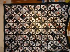 Queen Size Bed Quilt / Double size quilt 33 by pamscrafts7631