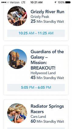Disney MaxPass - Guardians of the Galaxy MaxPass