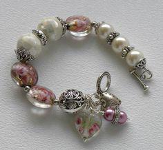 Just Dandy Handmade Beaded Bracelet by bdzzledbeadedjewelry, $36.00