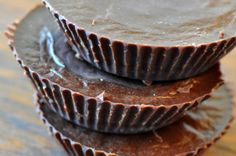 Rawified: Raw Peanut Butter Cups  Tristan, Mina and I want to make these for Daddy's birthday!  His absolute favorite in a more appealing fashion.