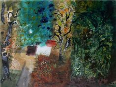 ✽   john piper  -  'plaza'  -  gouache  -portland gallery Abstract Painters, Abstract Landscape, Landscape Paintings, Abstract Art, John Piper Artist, Beauty In Art, Abstract Pictures, Painting Inspiration, Artwork