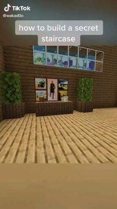 Minecraft Mansion, Minecraft Cottage, Easy Minecraft Houses, Minecraft House Tutorials, Minecraft Room, Minecraft Plans, Amazing Minecraft, Minecraft Tutorial, Minecraft Blueprints