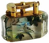 Superb Dunhill Aviary Aquarium lighter c.a 50's One at a type - Call Danilo 0039 335 6815268
