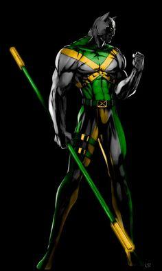 Jaimaican Jaguar by *CelticBolt on deviantART
