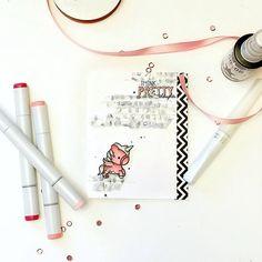 Card created by designer Samantha Mann using the Sweet Stamp Shop Unicorn stamp set