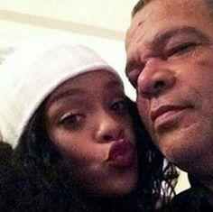 Rihanna & Her Dad