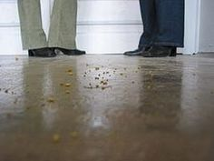 Don't let your stained concrete floor end up like this!