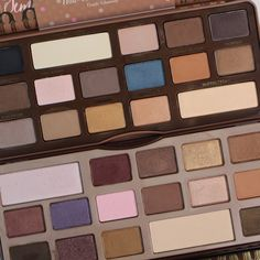 Making Up the Midwest: Review, Swatches, and Dupes: Too Faced Semi-Sweet Chocolate Bar Palette + GIVEAWAY
