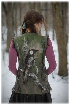 Crow's Nest - Lamb Fleece Paintings tutorial