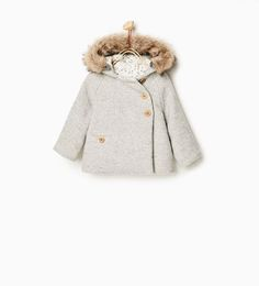 Double breasted 3/4 length coat-TRENDING PICKS-BABY GIRL | 3 months-3 years-KIDS | ZARA United States