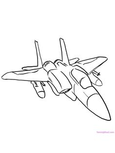 airplane coloring page for preschool. Everybody must recognized this kind of air transport vehicle. Airplane or plane is a jet powered aircraft that nowadays used as a main vehicle used fo. Airplane Coloring Pages, Coloring Pages For Kids, Plane Drawing, Aviation Art, Drawing For Kids, Jet, Preschool, Aircraft, About Me Blog