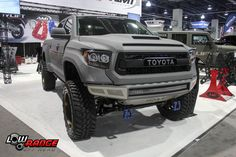 Toyota at the SEMA Show in Las Vegas. #sema #lasvegas #toyota #lowrangeoffroad