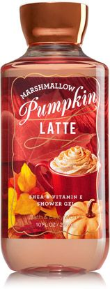 Marshmallow Pumpkin Latte Shower Gel - Signature Collection - Bath & Body Works