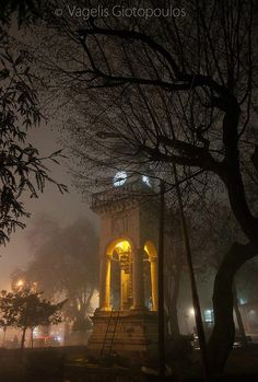 The famous clock in Ioannina... Amazing photo!