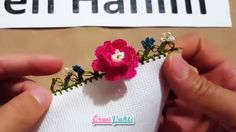 İki Katlı Çiçek Modeli Tığ Oyası Yapılışı Türkçe Anlatımlı Videolu