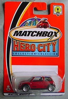 Matchbox Hero City Mini Cooper S #75 RED by Mattel. $14.99