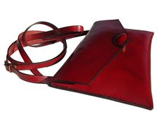 LEATHER HANDMADE BAG / Bag / Leather Bag / Leather by PACOSASTRE, $73.00
