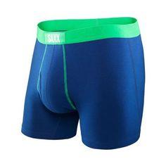 bbc3756d0 SAXX 24-Seven Boxer Fly Men s Underwear Bright Navy Grass