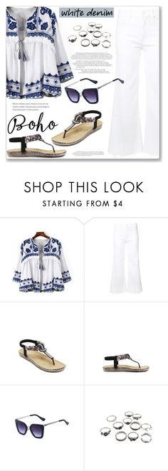 """""""Boho Summer Denim"""" by jecakns ❤ liked on Polyvore featuring Mother"""