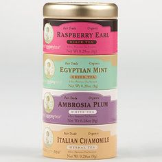 Zhenas Gypsy Tea White Variety Sampler, 16-Count Tin | Tea Time | World Market