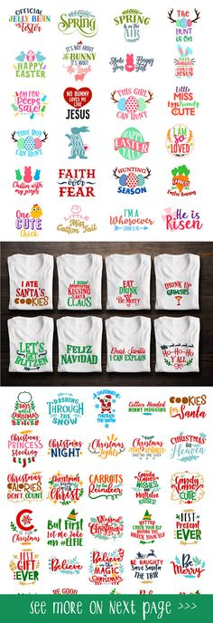 This is amazing! All the SVG files in this shop! It covers sayings, holidays, monograms, EVERYTHING! #svg #silhouette #bundle #ad #cutfile #holidays #monograms #sayings #quotes #design #diy #vinyl #ironon #tshirts #crafts #homemade #etsy