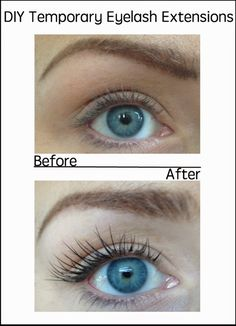 Tutorial on how to do your own eyelash extensions at home.  Easier than you might think.