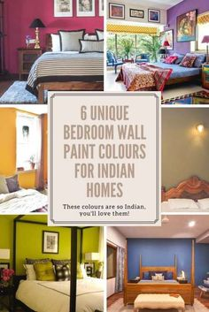 6 unique wall paint colors for the master bedroom - Ideas that you'll love for Indian Homes! paint colors 6 Unique Bedroom Wall Paint Colours That Work for Indian Homes inspiration Bedroom Interior Colour, Bedroom Wall Paint Colors, Bedroom Wall Designs, Luxury Bedroom Design, Boys Bedroom Decor, Paint Colors For Living Room, Girls Bedroom, Bedroom Ideas, Painting Bedrooms