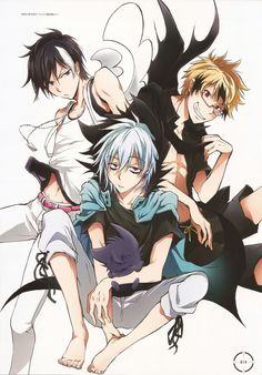Kuro - Sleepy Ash, Licht Jekylland Todoroki and Hyde Lawless