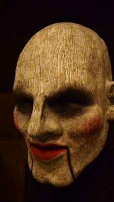 Doll Face silicone mask from Shattered FX at the St. Louis Transworld Halloween and Haunt Convention 2014.