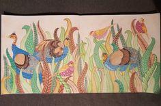 Finally done  #milliemarotta #wildsavannah #colouring #colouringforadults