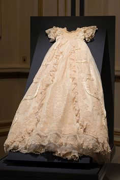 Christening gown worn by Prince George and Princess Charlotte going on display